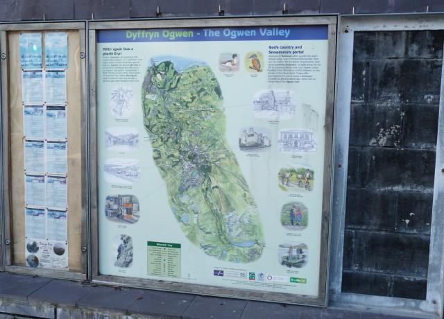 Map Llys Dafydd