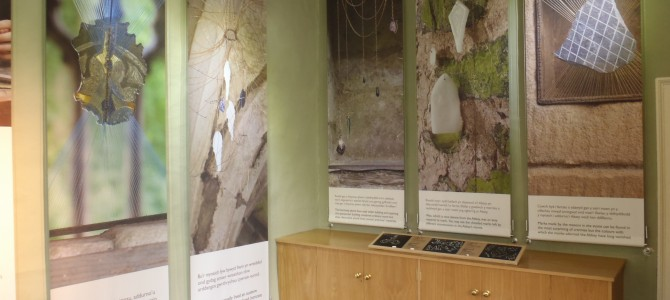 Valle Crucis Abbey – Ornament and Austerity, artist in residence exhibition