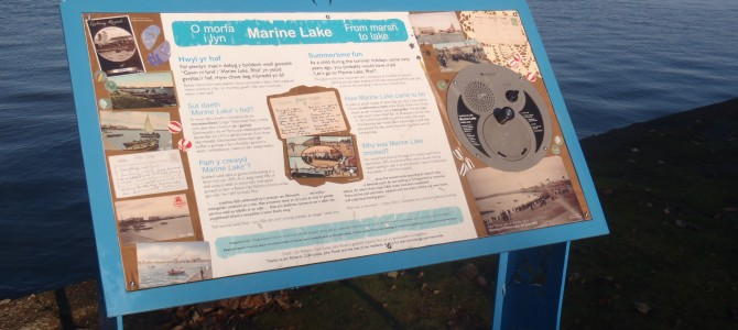 Marine Lake, Rhyl – Nature and Heritage Trail