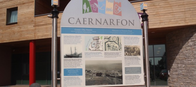 Caernarfon – Welcome and interpretation panels